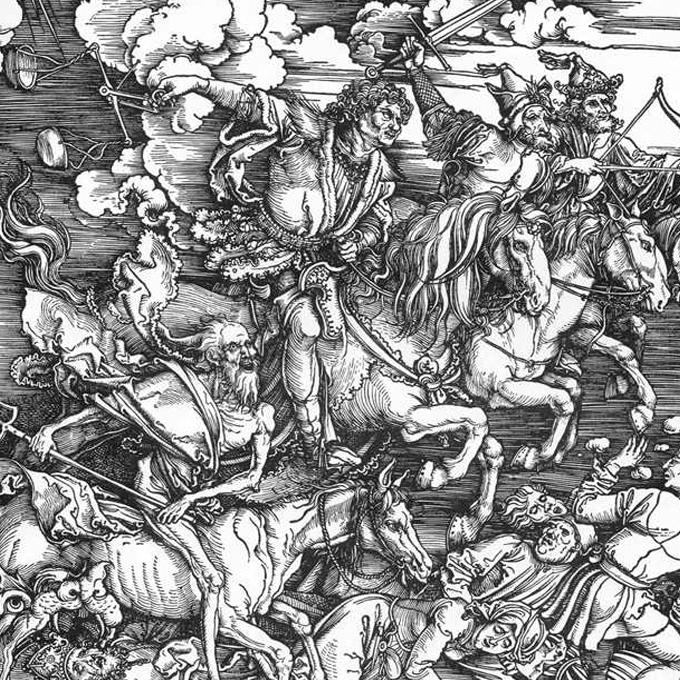 Dürer Vier apokalyptische Reiter